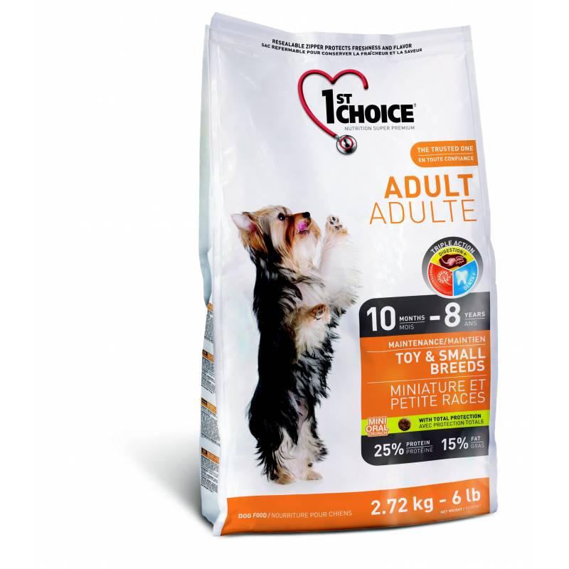 1st Choice Adult сухой корм для взрослых собак миниатюрных и мелких пород с курицей 350 гр (1 кг) (2,72 кг) (7 кг)