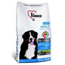 1st Choice Adult сухой корм для взрослых собак средних и крупных пород с курицей (7 кг) (15 кг)