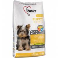 1st Choice Puppy сухой корм для щенков миниатюрных и мелких пород с курицей 0,35 кг (1 кг) (2,72 кг) (7 кг)