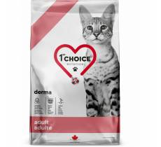 1st Choice GF Derma Care сухой корм для взрослых кошек всех пород с гиперчувствительной кожей с лососем