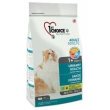 1st Choice Urinary сухой корм для кошек при МКБ с курицей 5,44 кг