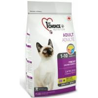 1st Choice Finicky сухой корм для привиредливых взрослых кошек с цыпленком 0,35 кг (2.72 кг) (5,44 кг)