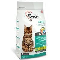 1st Choice сухой корм контроль веса для кастрированных и стерилизованных кошек - 0,35 кг (2,72 кг) (5,44 кг)