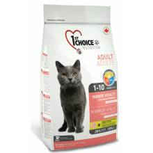 1st Choice Vitality Indoor сухой корм для домашних кошек с цыпленком - 0,35 гр (0,91 гр) (2.72 кг) (5,44 кг)