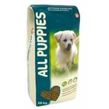 All Puppies корм для щенков всех пород 20 кг