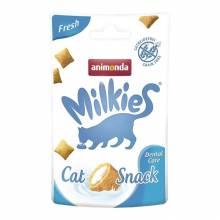 Лакомство Animonda Милкис подушечки для взрослых кошек для заботы о полости рта взрослых кошек - 30 г