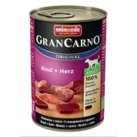 Консервы Animonda Gran Carno Original Adult с говядиной и сердцем для взрослых собак - 400 гр х 6 шт