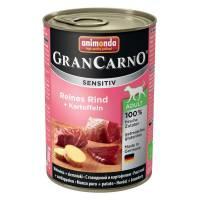 Animonda GranCarno Sensitiv / Анимонда Гран Карно Сенситив с говядиной и картофелем для чувствительных собак - 400 гр х 6 шт