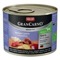 Animonda GranCarno Sensitiv / Анимонда Гран Карно Сенситив с ягненком и картофелем для чувствительных собак - 200 гр х 6 шт