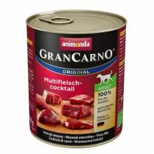 Animonda GranCarno консервы для взрослых собак мясной коктейль - 800 г х 6 шт