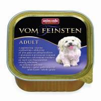 Animonda Vom Feinsten Adult / Анимонда Вомфейнштейн Эдалт для собак с ягненком и цельным злаками - 150 гр х 22 шт