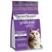 Arden Grange Adult Cat Light корм сухой беззерновой для взрослых кошек диетический 2 кг (4 кг)
