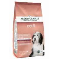 Arden Grange Adult Salmon & Rice для ежедневного кормления собак, предрасположенных к аллергии 6 кг (12 кг)
