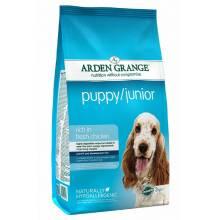 Arden Grange Puppy & Junior для щенков от 8 недель и молодых собак мелких и средних пород 6 кг (12 кг)