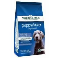 Arden Grange Puppy Large Breed для молодых собак крупных пород  6 кг (12 кг)