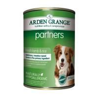 Arden Grange Lamb & Rice для собак взрослого возраста, предпочитающих мясо ягненка в ежедневном рационе - 6 шт. х 395 г