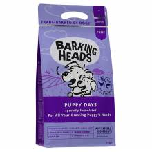 Barking Heads Щенячьи деньки сухой корм для щенков крупных пород, беременных и кормящих сук с курицей и лососем - 12 кг (18 кг)