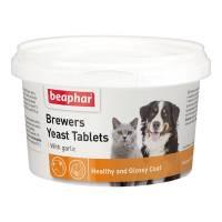 Beaphar Brewers витамины для собак и кошек с пивными дрожжами и чесноком - 250 таблеток