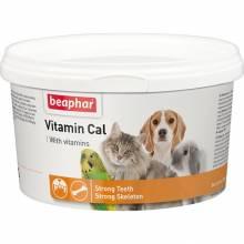 Смесь витаминная Beaphar Vitamin Cal для котов и собак ддя иммунитета - 250 г