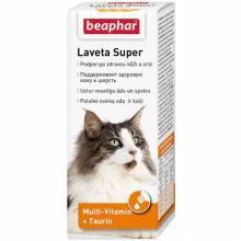 Витамины Beaphar Laveta super для кошек для шерсти - 50 мл