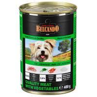 Belcando Super Premium консервы для собак отборное мясо с овощами - 400 гр х 12 шт (800 гр х 12 шт)