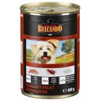 Belcando Super Premium консервы для собак отборное мясо с печенью - 800 гр х 12 шт