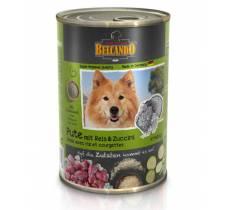 Belcando влажный корм для взрослых собак всех пород с индейкой - 400 гр х 12 шт.