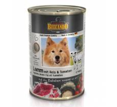 Belcando влажный корм для взрослых собак всех пород с ягненком - 400 гр х 12 шт.
