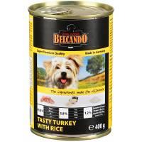 Belcando Super Premium консервы для собак индейка с рисом - 800 гр х 12 шт (400 гр х 12 шт)
