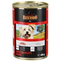 Belcando Super Premium консервы для собак отборное мясо - 400 гр х 12 шт (800 гр х 12 шт)