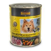Belcando Super Premium консервы с курицей, уткой, пшеном и морковью для взрослых собак - 400 гр х 12 шт. (800 гр х 12 шт.)