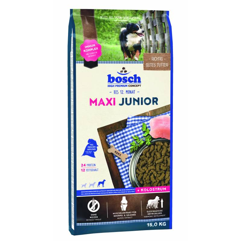 Bosch Junior Maxi сухой корм для щенков и юниоров крупных пород (3 кг) (15 кг)