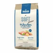 Полувлажный корм Bosch Soft Junior для щенков с курицей и бататом - 1 кг (2,5 кг) (12, 5 кг)