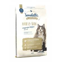 Sanabelle (Bosch) Hair & Skin - сухой корм для кошек для здоровья кожи и шерсти 2 кг (10 кг)