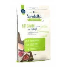 Sanabelle (Bosch) No Grain - беззерновой корм для кошек с домашней птицей и картофелем 2 кг (10 кг)