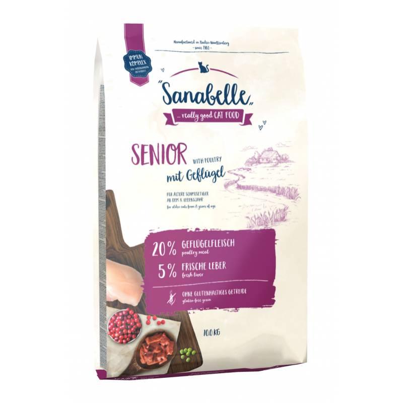Sanabelle (Bosch) Senior - сухой корм для кошек старше 8 лет 2 кг (10 кг)