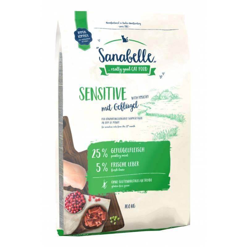 Sanabelle (Bosch) Sensitive Poultry - сухой корм для кошек с чувствительным пищеварением с птицей 2 кг (10 кг)