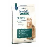 Sanabelle (Bosch) Outdoor сухой корм для кошек, бывающих на улице, с уткой 2 кг (10 кг)