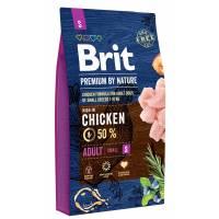 Brit Premium by Nature Adult S сухой корм для взрослых собак мелких пород 1 кг (3 кг) (8 кг)