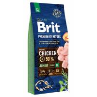 Brit Premium by Nature Junior XL сухой корм для молодых собак гигантских пород 3 кг (15 кг)