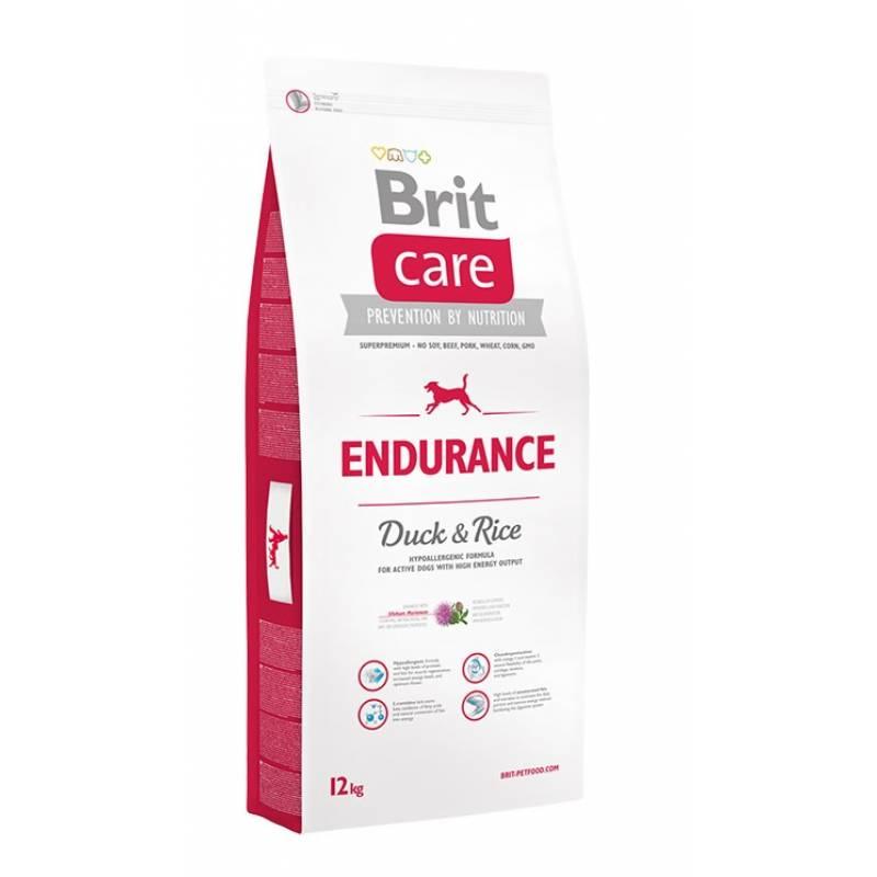 Brit Care Endurance Duck & Rice сухой корм для активных собак всех пород с уткой и рисом 3 кг (12 кг)