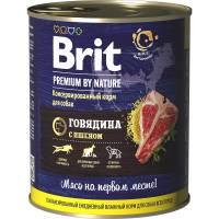 Brit Red Meat and Liver влажный корм для собак с говядиной с пшеном 850 г х 6 шт
