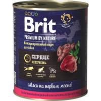 Brit Liver & Heart влажный корм для собак с сердцем и печенью 850 г х 6 шт