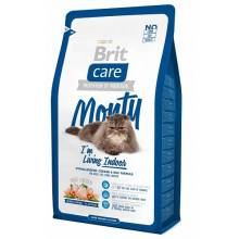 Brit Care Cat Monty Indoor сухой корм для кошек, живущих в квартире 2 кг (7 кг)