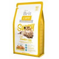 Brit Care Cat Sunny Beautiful Hair сухой корм для кошек, для ухода за кожей и шерстью 2 кг (7 кг)