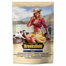 Влажный корм Brooksfield Adult Cat для взрослых кошек с говядиной и морковью в желе в паучах - 85 г х 22 шт
