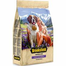 Сухой корм Brooksfield Adult Dog Large Breed для взрослых собак крупных пород с курицей и рисом - 3 кг (12 кг)