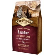 CarniLove с мясом северного оленя сухой корм для взрослых кошек - 2 кг (6 кг)