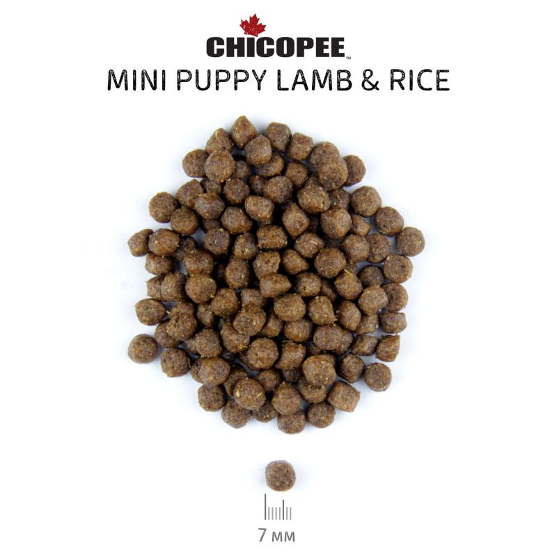 Chicopee Classic Nature Line Mini Puppy Lamb & Rice сухой корм для щенков мелких пород с ягненком и рисом 2 кг
