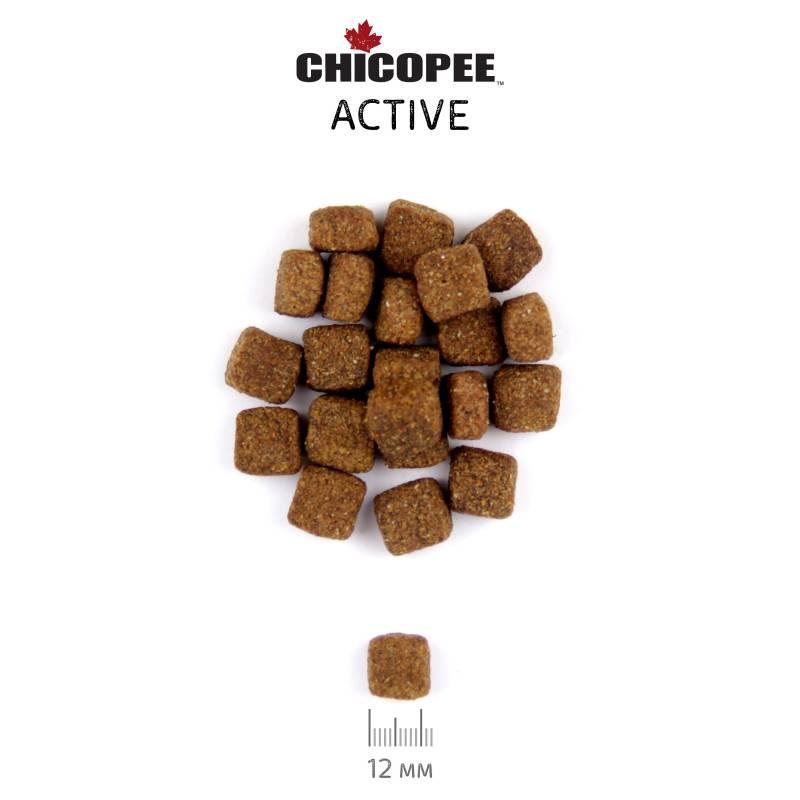 Chicopee Pro Nature Line Active сухой корм для взрослых повышенно активных собак всех пород - 20 кг